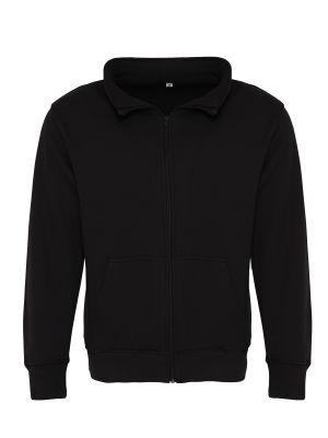 Vest Met Rits - Heren - Zwart