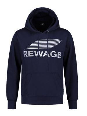 REWAGE Hoodie Premium Heavy Kwaliteit - Heren - Donkerblauw