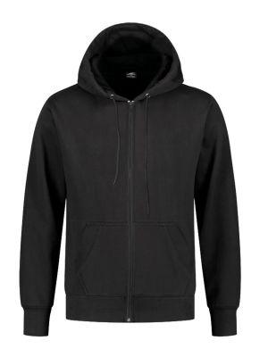 REWAGE Hoodie Premium Heavy Kwaliteit Met Rits - Heren - Zwart